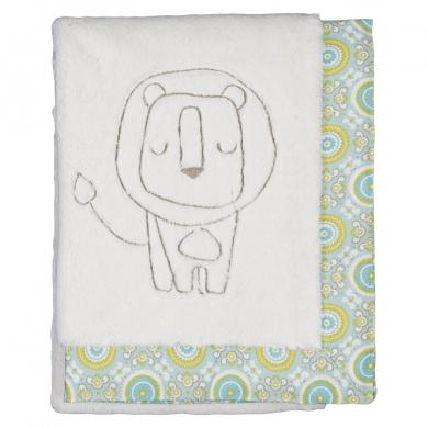 Living Textiles Lolli Living Animal Tree Boa Blanket - Lion/Gio