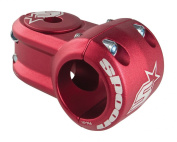 Spank Spoon MTN Stem - 40mm Length, 31.8 Clamp Size, Red