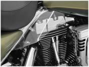 Kuryakyn AirMaster Saddle Shields Reflective Smoke 1196