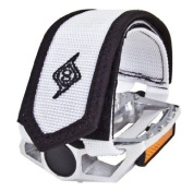 Origin8 Pro-Grip Double Toe Straps - White