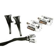 Triton/ Mobo Composite Safety Pedals - Silver