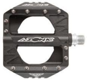 PEDAL BMX AZONIC SWITCHBACK SEALED BLACK 1.4cm