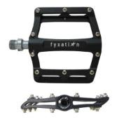 Fyxation Mesa 61 Alloy Platform Pedals Black