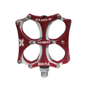 Xpedo Freestyle Pedal Hurtle Curve red