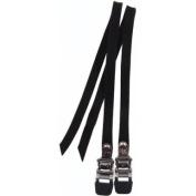 Eleven81 Nylon Toe Straps Black