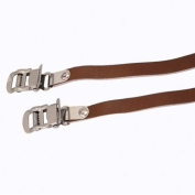 Eleven81 Leather Toe Straps 450mm Brown