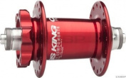King ISO Front Disc Hub 32h Red