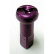 DT Swiss Spoke Nipple Alloy 14G/ 2.0mm Purple, Box of 100