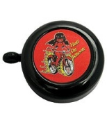 """Soma Hell on Wheels bell black/red """"Hell on Wheels"""" design"""