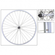 Wheel Master Front Bicycle Wheel 26 x 1.5 36H, Alloy, Quick Release, Silver