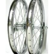 Wheel Master 45.7cm x 1.75 CB Rear Bicycle Wheel, 28H, Steel, Bolt On, Silver