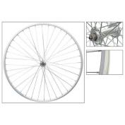Wheel Front 700 x 25, WEI-AS23X, Silver, QR, QR Alloy Hub, 14g UCP, 36H