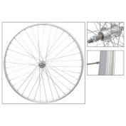 Wheel Rear 27 x 1-1/4, Silver, 36H Bolt On
