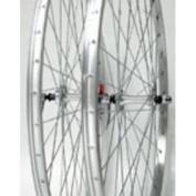 Wheel Rear 700 x 28/35 Silver, QR, Alloy QR Silver FW 5-7Sp, 14g UCP Spokes, 36H