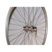 Alex Toys RP15F 36H Alloy QR Front Wheel, Silver/Silver, 700C