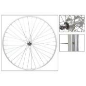 Wheel Master Rear Wheel 700 x 25, WEI AS23 x , QR Alloy FW 5-7sp Silver Hub, 14g SS Spokes, 36H