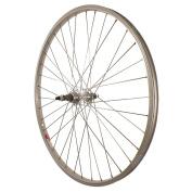 Sta-Tru Silver Alloy ATB 6-7 Speed Freewheel Hub Rear Wheel