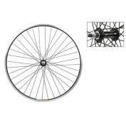 Wheel Master MTB Front Wheel, 66cm x 3.8cm , 1cm Bolt-On Hub, Black