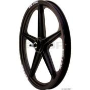 ACS Z Mag Front Wheel 5 Spoke, 20 x 1.75, Black