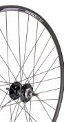 Sta-Tru Black High Flange Flip-Flop Track Hub Rear Wheel