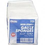 Ns Gauze Sponge, 7.6cm x 7.6cm White