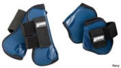 Roma Competitor Open Front/Fetlock Boot Set Black