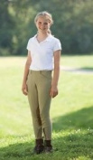 The Tailored Sportsman Girl's TS Side Zip Riding Breeches
