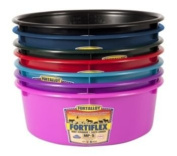 Fortiflex Mini Feed Pan for Dogs and Horses, 4.7l, Hot Pink