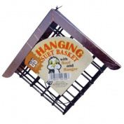 C & S Hanging Suet Basket w/ roof