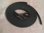 Beta Biothane Driving Lines Single Horse 1.9cm Buckle Black