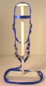 MINIATURE HORSE / SMALL PONY NYLON BRIDLE BLUE
