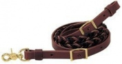 Weaver Leather REIN 2-TONE 5-PLT ROPER 3/4X8'