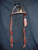 Myhoovesandpaws Weaver Texas Star Headstall Western Show Tack!