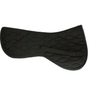 Equine Cotto Half Saddle Pad Interlaced Wave Pattern Full Size Hnf-bk