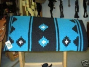 Mayatex Mayatex Saddle Blanket Pad Turquoise Horse Tack Blue