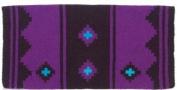 Mayatex Saddle Blanket - Apache - Black and Purple