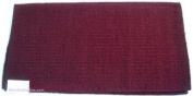 Mayatex Saddle Blanket - Wool San Juan Solid - Burgundy