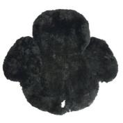 Merino Sheepskin Western Saddle Cover Black Wst-1/1-bk-wald