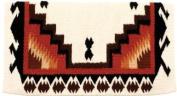 Mayatex Saddle Blanket - Wool Haymaker - Cream - Chestnut - Black - Rust - Chocolate