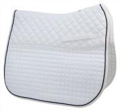 Passport Double Back Dressage White/Black Pad