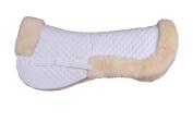 ECP Sheepskin De Luxe Half Saddle Pad - Medium - Cream