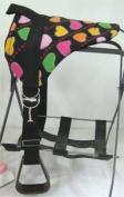Miniature Horse / Small Pony Bareback Pad Saddle with Stirrups - New Heart
