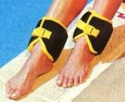 Aqua Power Ankle Swim Weights, 2.3kg. Set