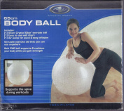 Athletic Works 65 cm Body Ball Includes Workout Guide and Air Pump