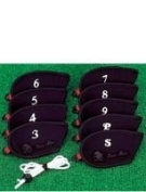 Neoprene Golf Iron Covers Set of 9 3-PW+SW
