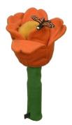 Winning Edge Designs Flower Power Orange Tulip Head Cover
