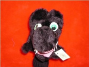 Black Dragon Head Cover with Wiggly Eyes Special