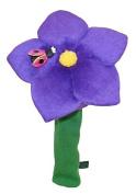 Winning Edge Designs Flower Power Head Cover, Violet