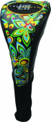 New Loudmouth Golf - Driver Headcover - Shagadelic Black