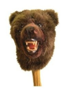 Authentic Animal Golf Headcover 460 cc Grizzly Bear OM